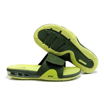 Mens Air LeBron Slide Green