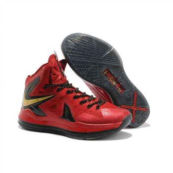 Mens Nike LeBron 10 Championship Pack Red