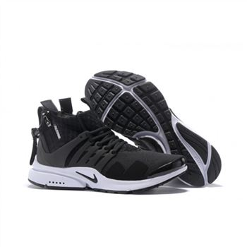 ACRONYM x NikeLab Air Presto Mid Mens Black White Shoes