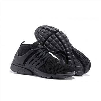 Men Nike Air Presto Flyknit Ultra Shoes All Black