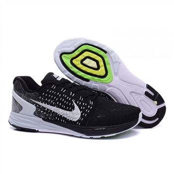 Nike Lunarglide 7 Mens Shoes Black White