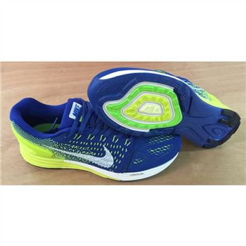 Nike Lunarglide 7 Mens Shoes Saphire Fluorescent