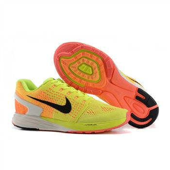 Nike Lunarglide 7 Mens Shoes Yellow Orange