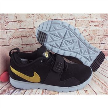 Nike SB Trainerendor L Black Gold Shoes