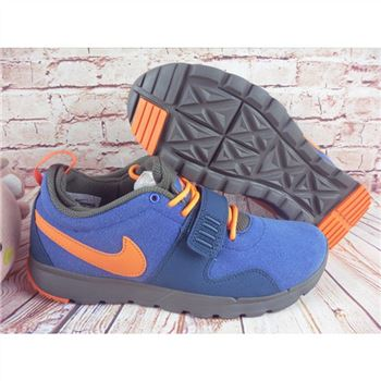 Nike SB Trainerendor L Blue Orange Shoes