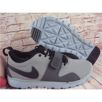 Nike SB Trainerendor L Gray Black Shoes