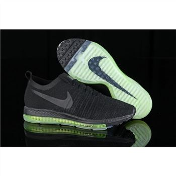 Nike Zoom All Out Flyknit Black Fluorescent Shoes