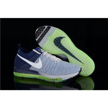 Nike Zoom All Out Flyknit Blue Navy Shoes