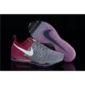 Nike Zoom All Out Flyknit Gray Fuchsia Shoes