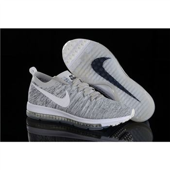 Nike Zoom All Out Flyknit Light Gray Shoes