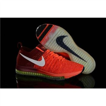 Nike Zoom All Out Flyknit Orange Claret Shoes
