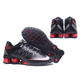 Mens Nike Shox Avenue 808 Shoes Black Red