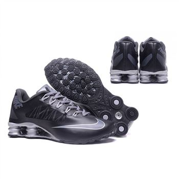 Mens Nike Shox Avenue 808 Shoes Black Silver