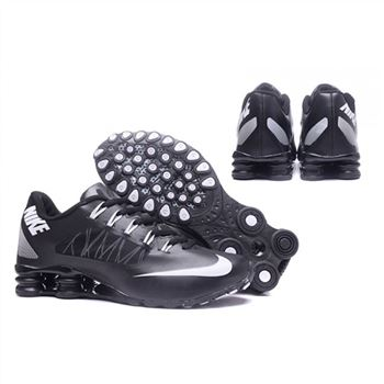 Mens Nike Shox Avenue 808 Shoes Black White