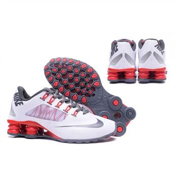 Mens Nike Shox Avenue 808 Shoes White Red