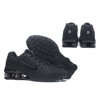 Mens Nike Shox Avernue 801 All Black Shoes