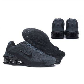 Mens Nike Shox Avernue 801 Blackish Green Shoes