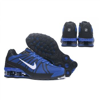 Mens Nike Shox Avernue 801 Sapphire Black Shoes