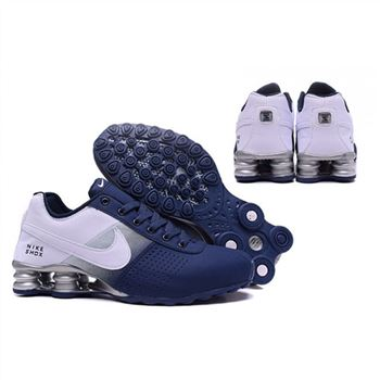 Mens Nike Shox Deliver Navy White Shoes
