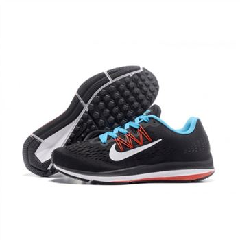 Mens Nike Zoom Winflo 5 Black Red Blue