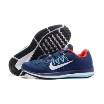 Mens Nike Zoom Winflo 5 Blue Red Shoes