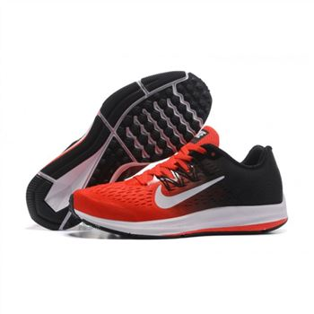 Mens Nike Zoom Winflo 5 Red Black Shoes