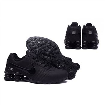 Mens Nike Shox Deliver All Black Shoes