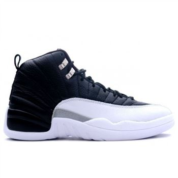 130690-001 Air Jordan Retro 12 (XII) Playoffs Black Varsity Red White A12001
