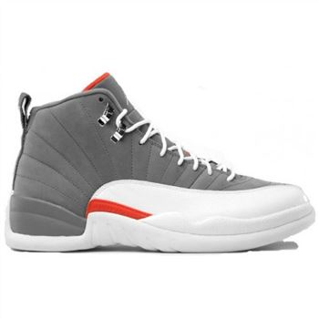 130690-012 Air Jordan Retro 12 (XII) Cool Grey 2012 Cool Grey White Team Orange A12002