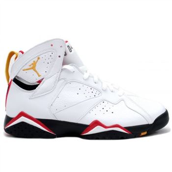 304775-101 Air Jordan Retro 7 (VII) Cardinal White Cardinal Red A07007