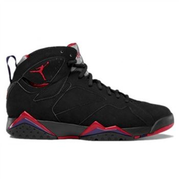 304775-018 Air Jordan 7 (VII) Raptor 2012 Black True Red Dark Charcoal Club Purple A07003