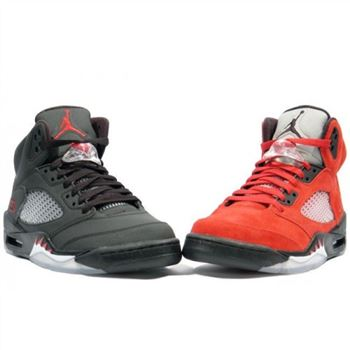 Air Jordan 5 V Retro DMP Raging Bull & Wolf Grey A17004