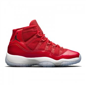 Men's Air Jordan 11 Gym Red (Win Like'96) Gym Red/White-Black 378037-623