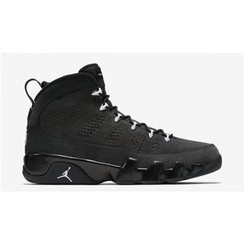 302370-013 Air Jordan 9 Retro Anthracite/Black-White