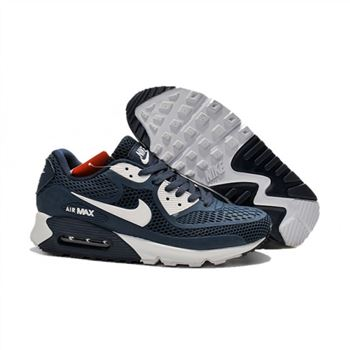 Nike Air Max 90 Womens Shoes Navy White