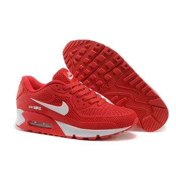 Nike Air Max 90 Womens Shoes Red White