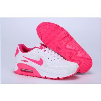 Nike Air Max 90 Womens Shoes White Pink