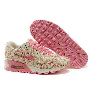Nike Air Max 90 Womens Flowers Pink Shoes