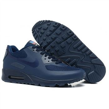 Women Nike Air Max 90 All Navy Shoes