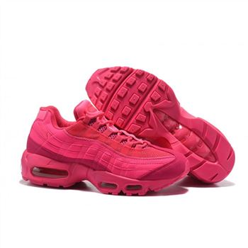 Womens Nike Air Max 95 Essential Red Pink Shoes