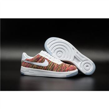 Womens Nike Flyknit Air Force 1 Low Colorful Shoes