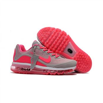 Womens Nike Air Max 2017.5 Shoes Gray Peachblossom