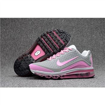 Womens Nike Air Max 2017.8 Gray Pink Shoes