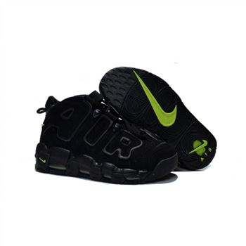 Womens Nike Air More Uptempo Black Fluorescent Shoes