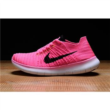 Womens Nike Free RN Shoes Pink