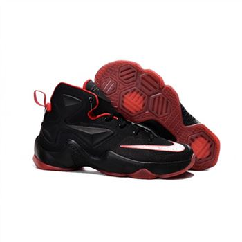 Womens Nike Lebron James 13 Black Red