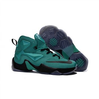 Womens Nike Lebron James 13 Green Black