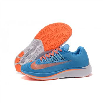 Nike Zoom Fly Blue Orange Shoes For Women