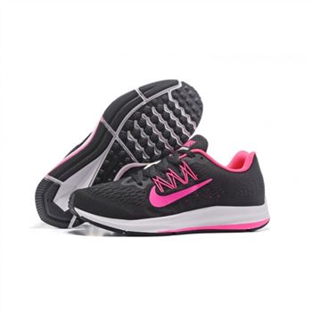 Womens Nike Zoom Winflo 5 Black Peach Shoes