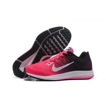 Womens Nike Zoom Winflo 5 Pink Black Shoes